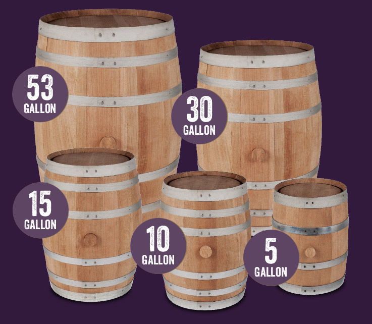 Different Barrel Sizes